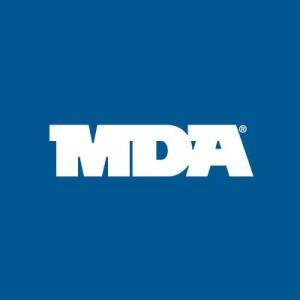 muscular dystrophy association (mda) logo