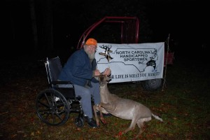 Lee and his 4 point buck