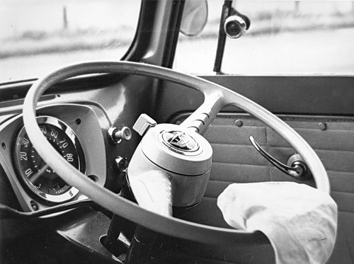 car steering wheel by Sheffield Tiger on flickr cc