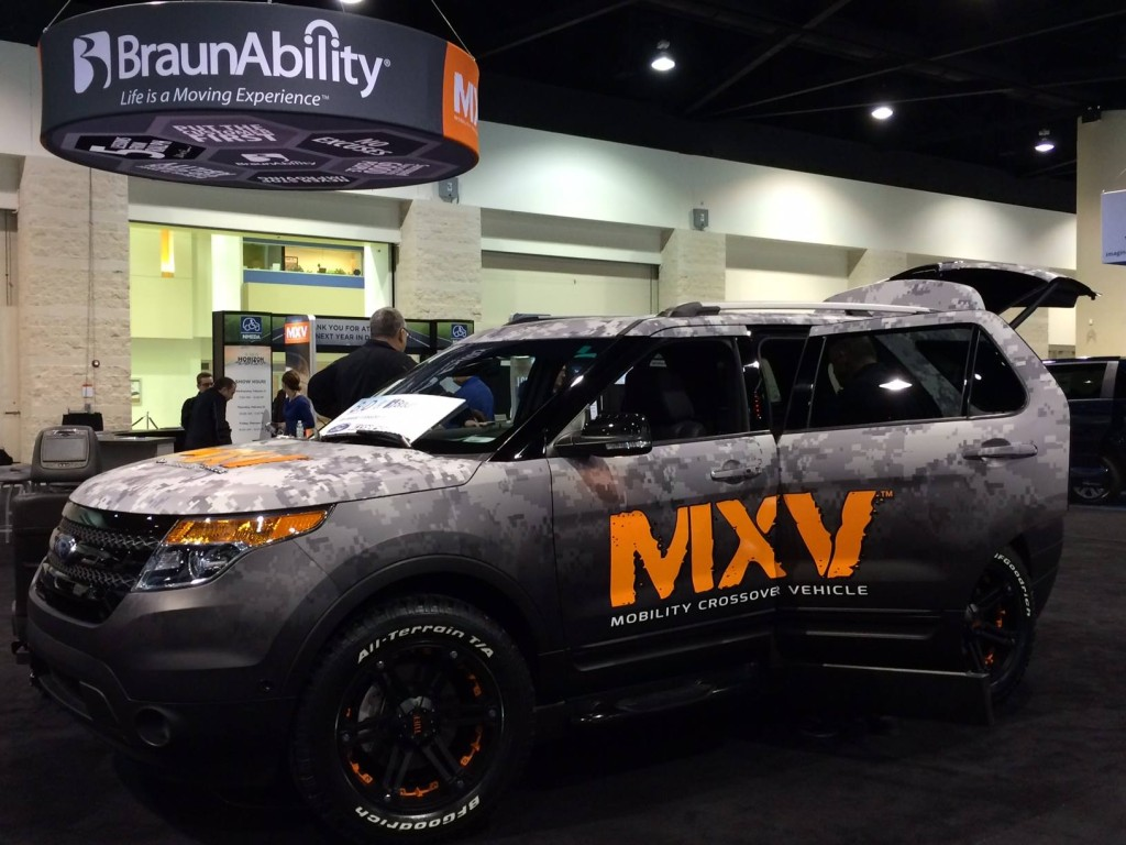 Mobility Crossover Vehicle (MXV)