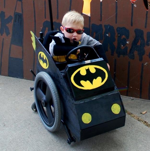 Batman in Batmobile