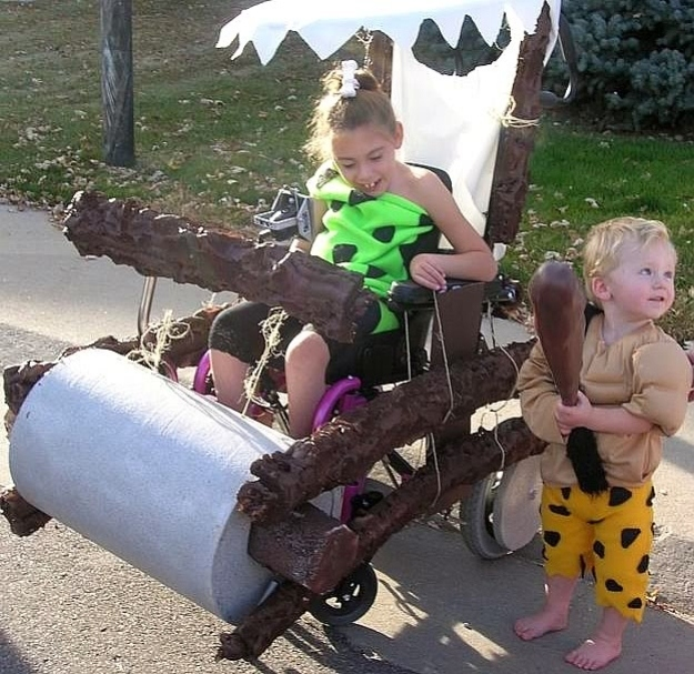 Creative Halloween Costume Ideas For People In Wheelchairs 1