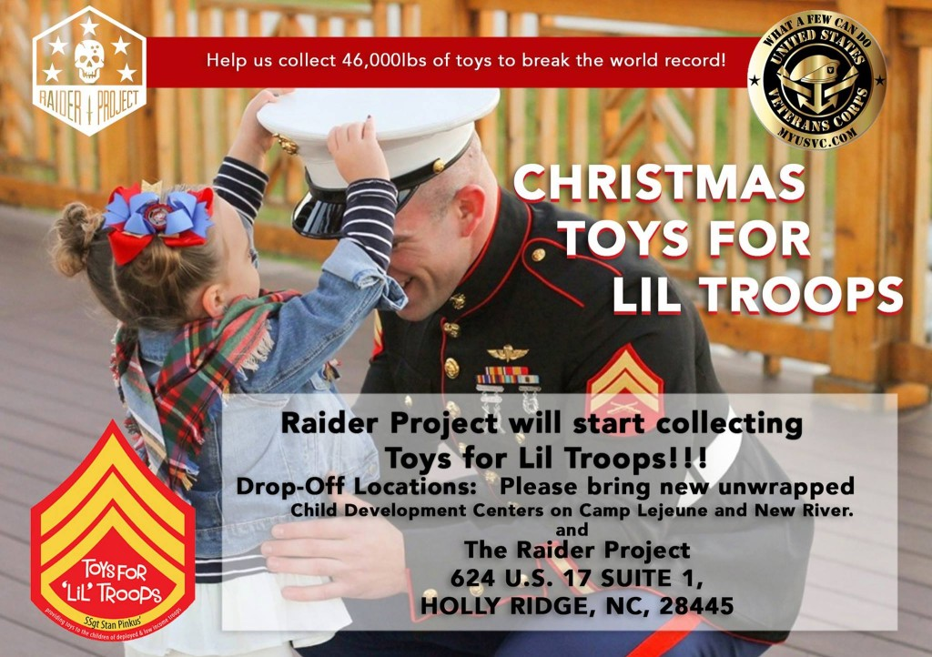 Raider Project Toys for Lil Troops
