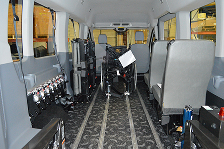 Ford Transit Connect Conversion Van by Van Products
